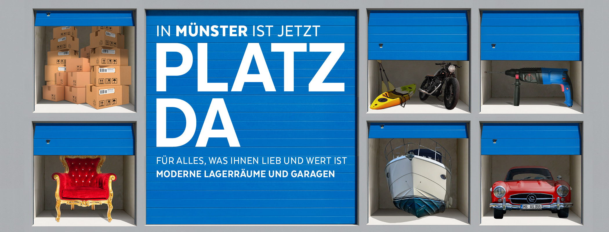 Platz da Münster Self Storage Boxen Slider 1
