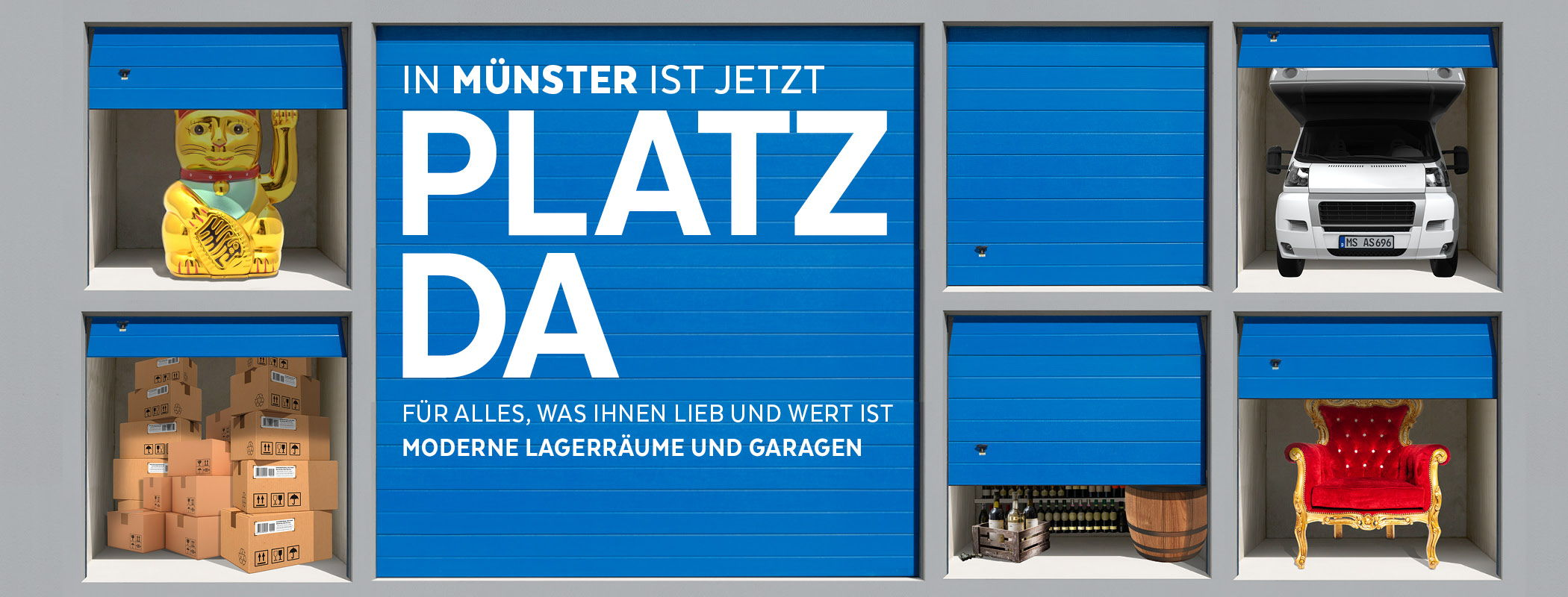 Platz da Münster Self Storage Boxen Slider 2